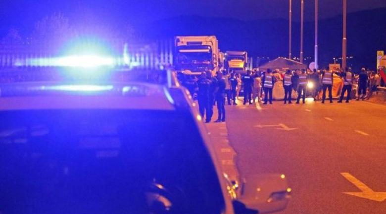 """Тежка катастрофа на """"Тракия""""! Три тира се блъснаха край Пловдив"""