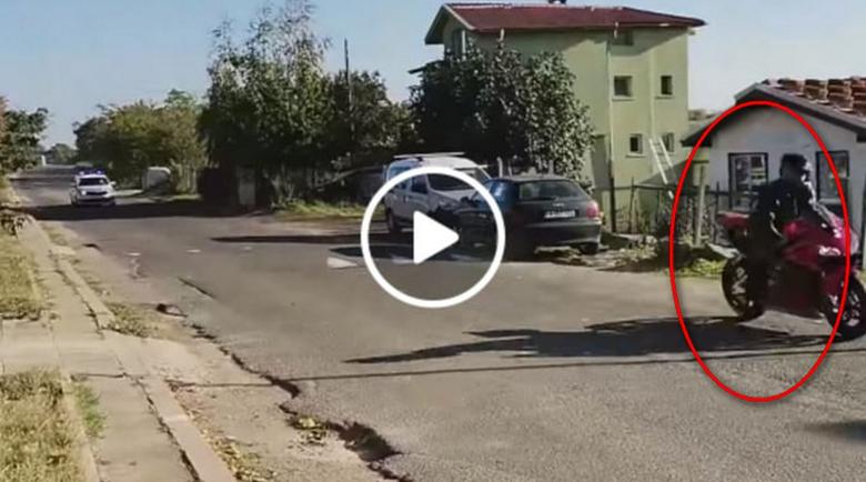 Моторист подлуди полицаите в Бургас и кръстоса града със 140 км/ч